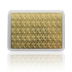 50 g Gold Bar  50 x 1 g Combi