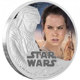 1 Unze oz Silber REY Star Wars Niue Box PP