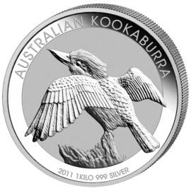 1kg Silber Kookaburra 2011