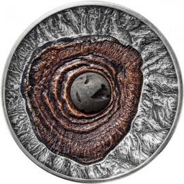 2 Unzen Silber Vulcano Vesuvius Pompeji