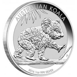 1 unze Silber Koala 2016