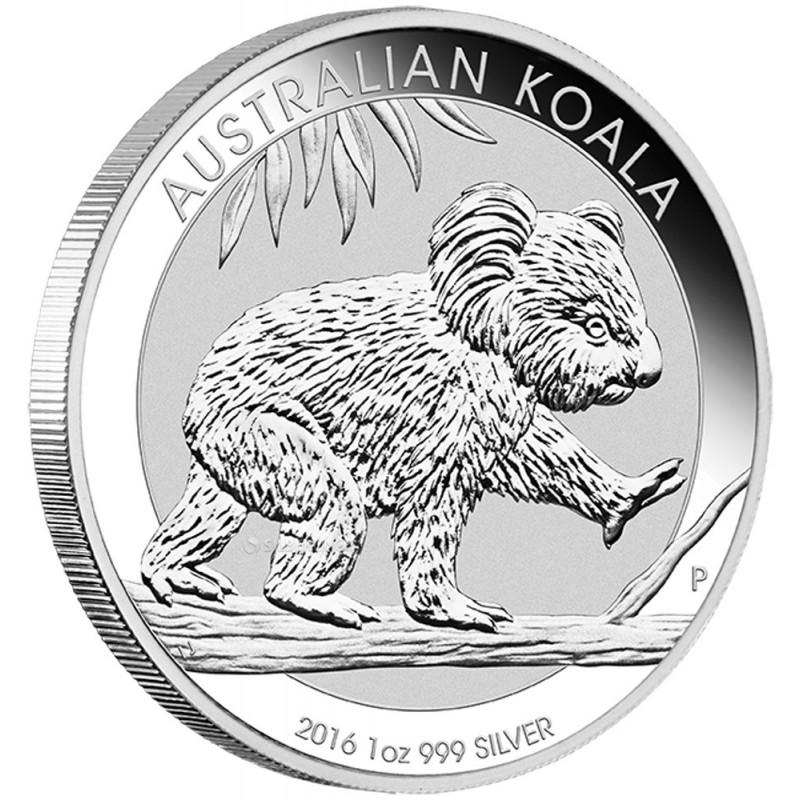1 oz Silver  Koala 2016
