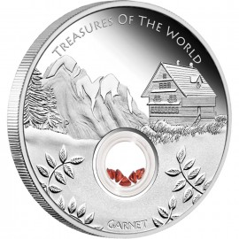 1 oz silver treasures of the world 2015