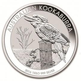 1 kg  Silber Australien Kookaburra 2016