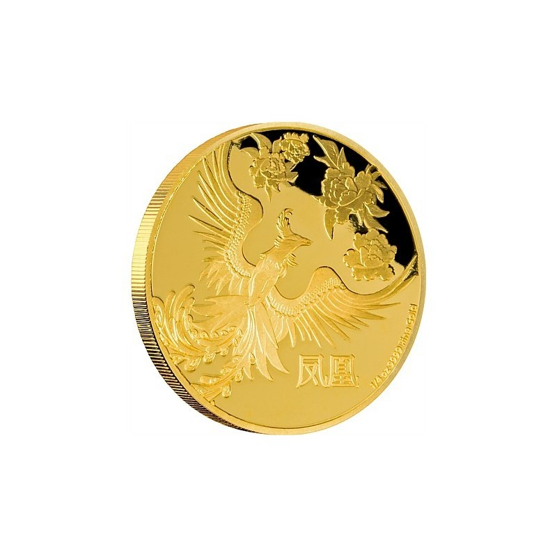 1/4 oz Feng Shui Phönix  PP  Gold 2015