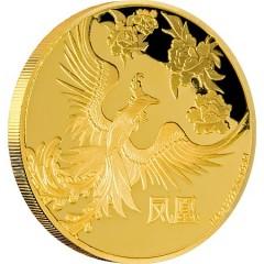 1/4 oz Feng Shui Phönix  PP  Gold 2016
