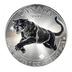 1 Unze Silber Cougar Puma  2016 Predator Canada