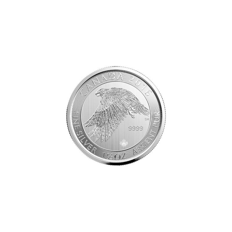 1,5 Unze Silber 2016 Schneefalke