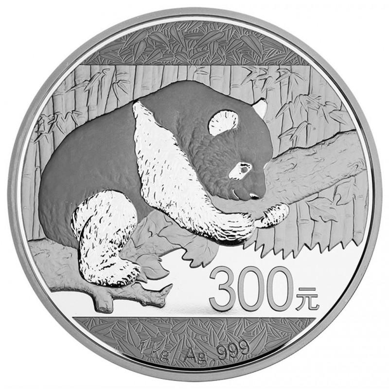 1kg Silber China Panda 2016 PP