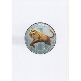 1 Unze Silber Cougar 2016