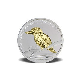 1 Unze Silber Australien Kookaburra 2003