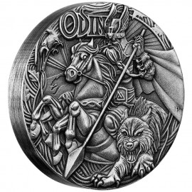 2 oz  Silver Australien Odin 2015