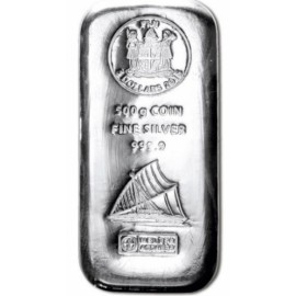500 g Silber  Münzbarren Fiji Argor Heraeus