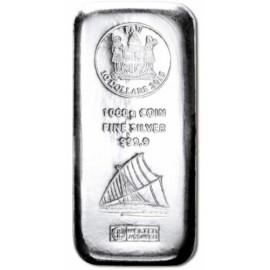 1000 g  Silber Fiji Münzbarren  Coin bar