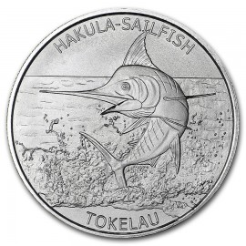 1 oz Silver  Hakula Sailfish 2016