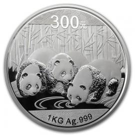 1 kg Kilo Silber China Panda 2013 PP BOX Rarität