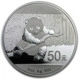 5 Unzen Silber China Panda 2014 PP BOX