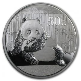5 Unzen Silber China Panda 2015 PP BOX