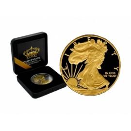 1 oz Silber American Eagle 2016 Black Empire