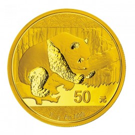 3 g China Panda Goldmünze 2016