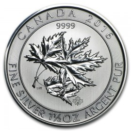 1,5 Unze Silber Maple Leaf 2015