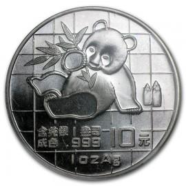1 Unze Silber China Panda 1989  BOX