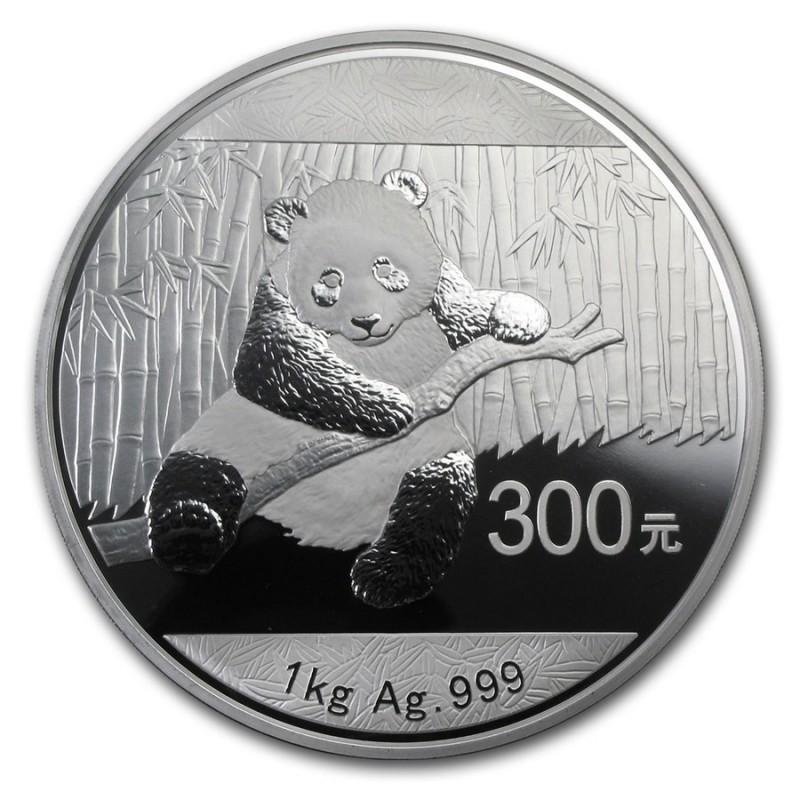 1kg Silber China Panda 2014 PP
