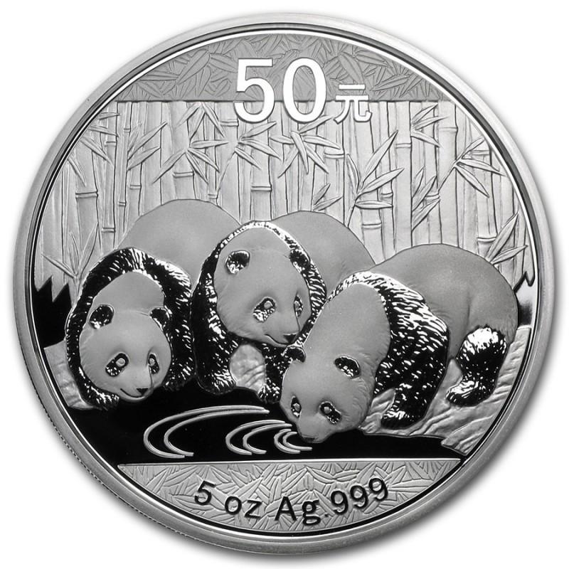 5 ozSilber China Panda 2013 PP