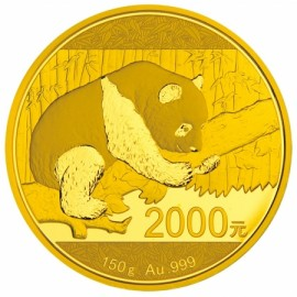 150 Gramm China Panda Goldmünze 2016 BOX