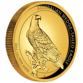 1 Unze Gold Wedge-Tailed Eagle High Relief PP mit Box