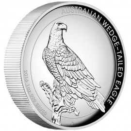 1 Unze Silber Wedge-Tailed Eagle PP 2016 High Relief