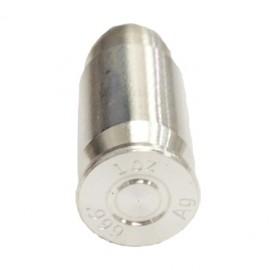 5 x Bullet Kaliber 45 1 oz Silver 99,9%