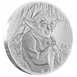 1 Unze Silber Yoda Star Wars Niue