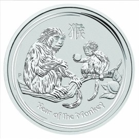 10 kg Silber Lunar II Affe 2016
