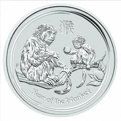 10 kg Silber Lunar II Hahn 2017