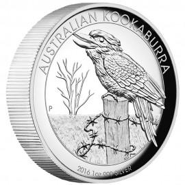 1 Unze  Silber Australien Kookaburra 2016 High Relief