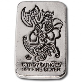 Silver Bar 1 oz Monarch Mint