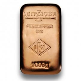 1 Kg Kupferbarren LEV 999