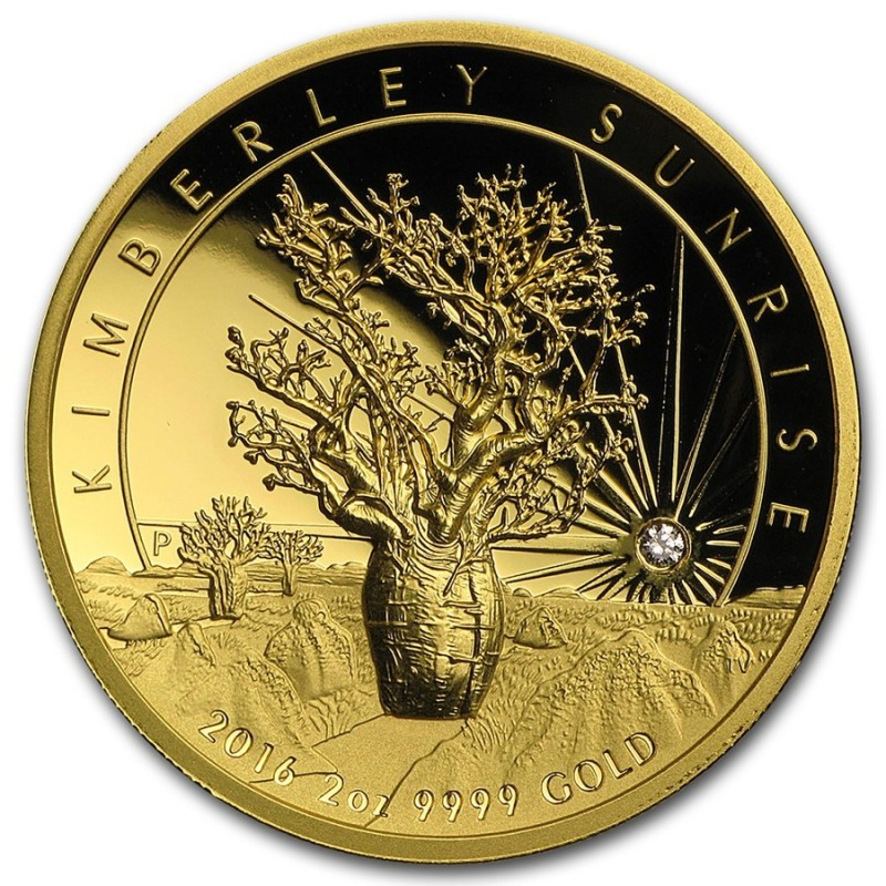 2 oz Gold Kimberley