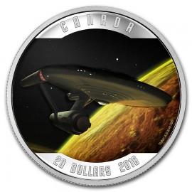 1 Unze Silber Canada Star Trek 50 Jahre U.S.S. enterprise NCC-1701 2016