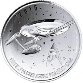 1/4 Unze Silber Canada Star Trek