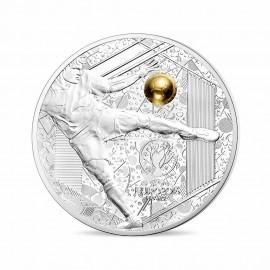 10 Euro Silber UEFA Euro 2016 PP Box Volley