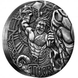 2 Unzen Silber  Odin North Thor PP