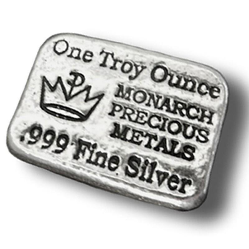1 Unze Silber Barren Monarch  USA
