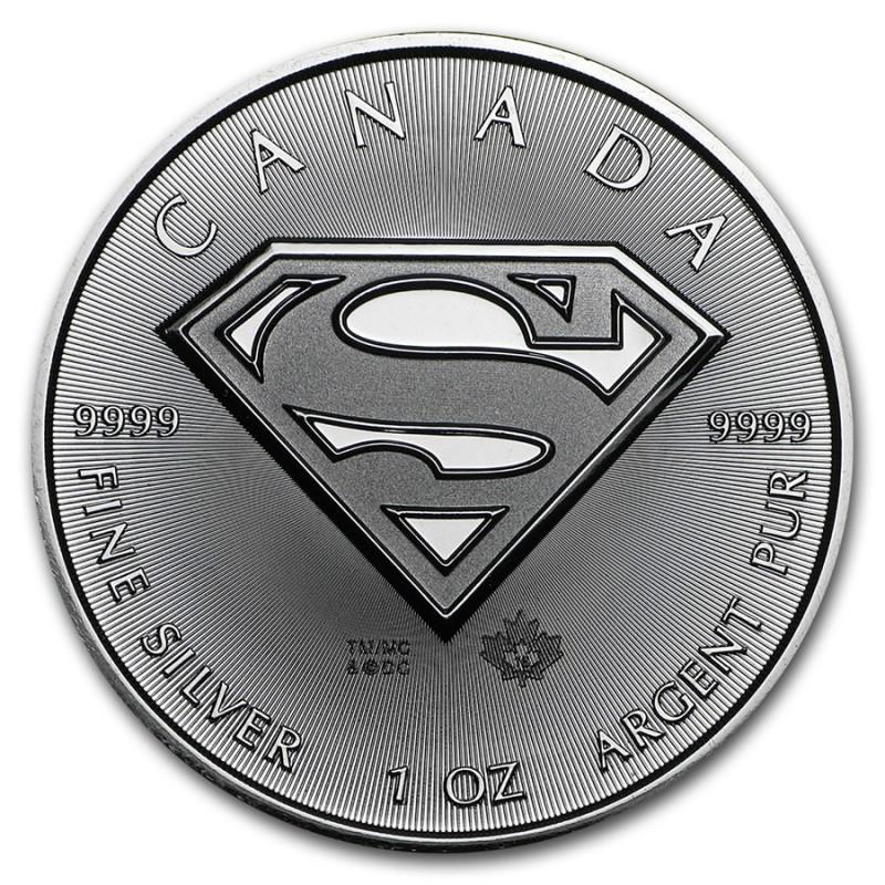 1 Unze Silber Superman TM 2016