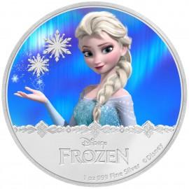 1 Unze Silber Frozen Elsa Disney Niue