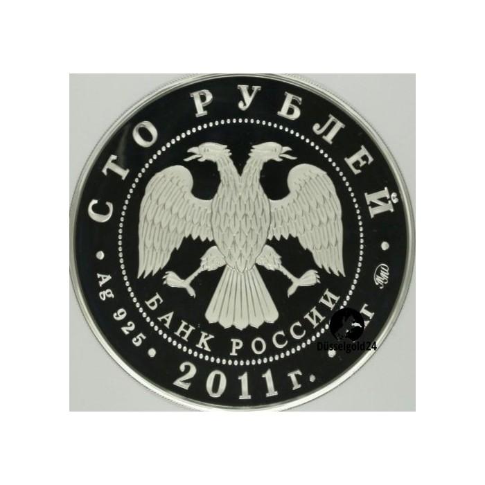 1 kg silber 100 rubel russland 2011 d sselgold24. Black Bedroom Furniture Sets. Home Design Ideas