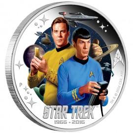 1 Unze Silber Star Trek James T. Kirk 50 Jahre Star Trek