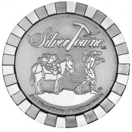 Silver round Provident Prospector