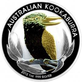 1 unze Silber Kookaburra...